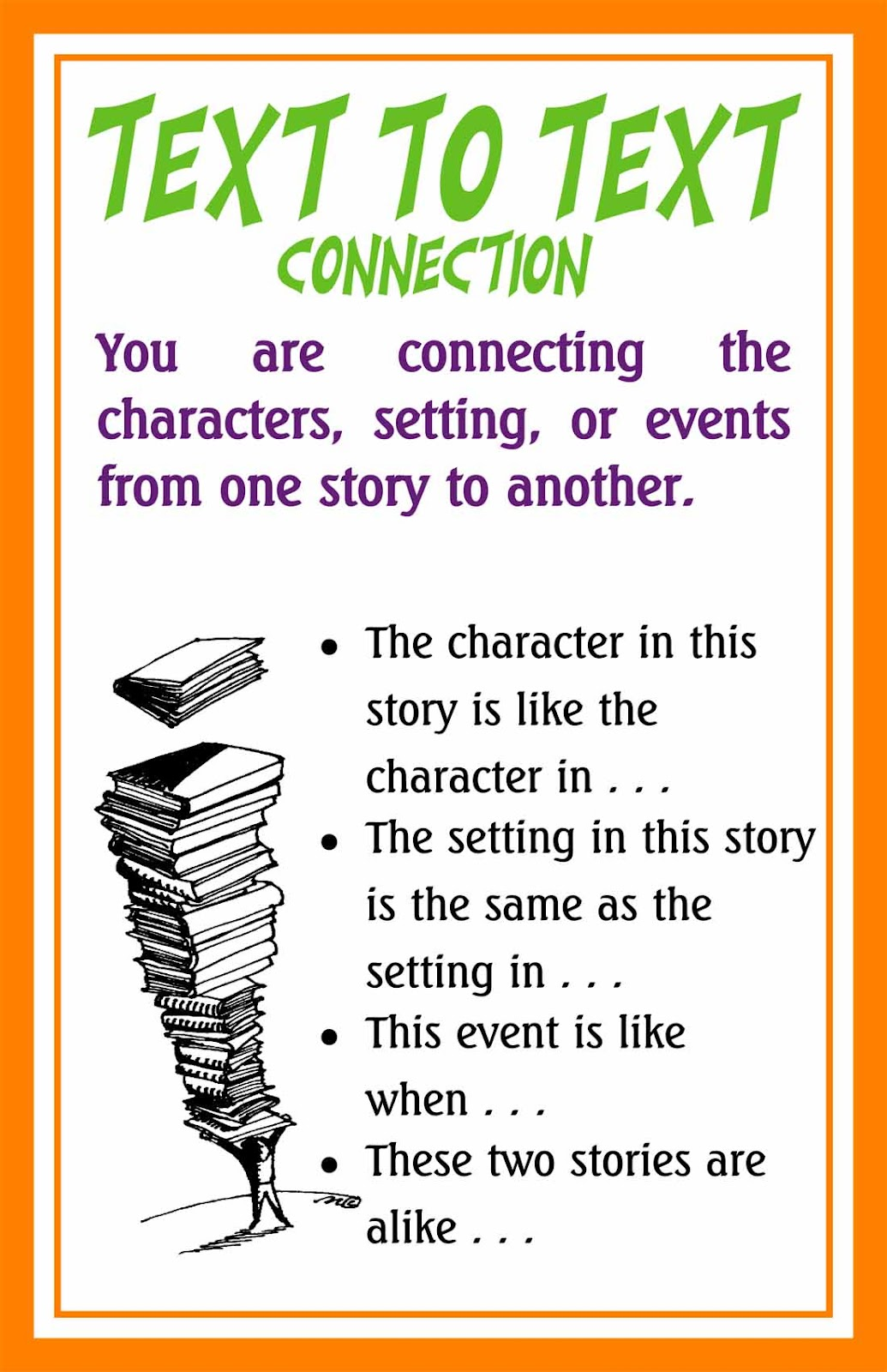 connections essay text text